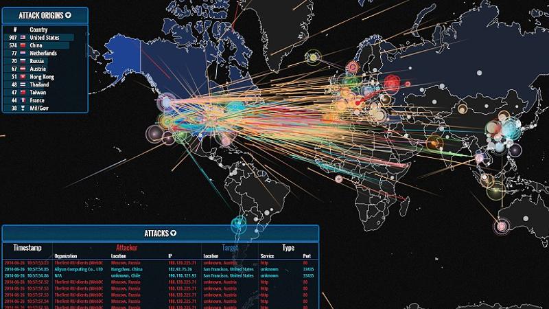 """5 Mapas de ciberataques para impresionar """"like a pro"""" - SecurityInside.info"""